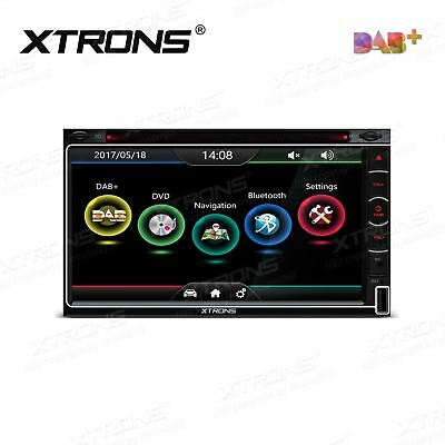 XTRONS TD799DAB Double DIN Car Head Unit DVD Player DAB+ Radio GPS SatNav Stereo