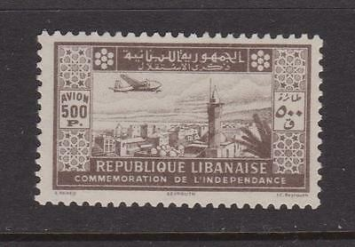 LEBANON 1944 Independence 500p Air nhm