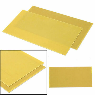"12x6"" 1mm G10 FR4 Glassfibre Sheet Epoxy Glass Smooth Fibreglass Sheet Board"