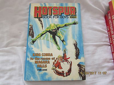 The Hotspur  Book For  Boys     1982  Good  For  Age
