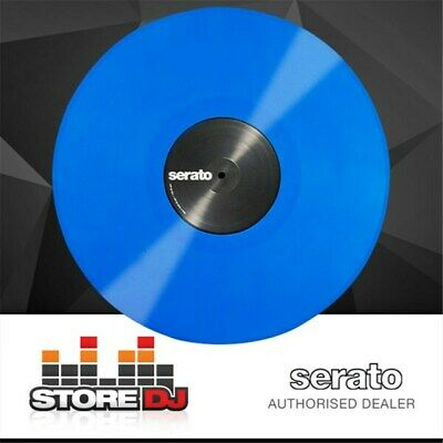 Serato Performance Vinyl: PAIR Blue Coloured