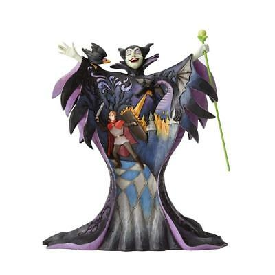 Malevolent Madness - Maleficent with Scene Figurine by Jim Shore - 4055439 -NIB