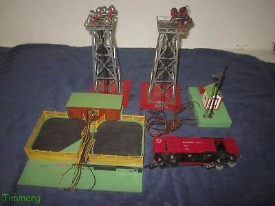 Lot of American S Gauge Accessories for Parts or Repair