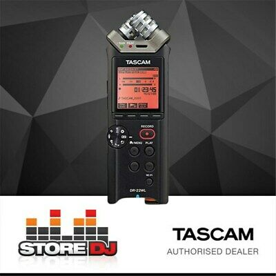 Tascam DR-22WL Portable Handheld Recorder w/ Wi-Fi
