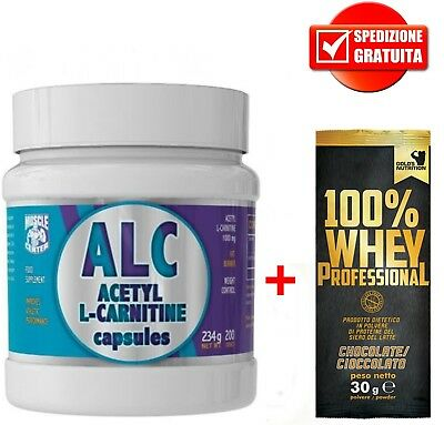 ALC 200cpr Muscle Center - Super Fat Burner Termogenico Bruciagrassi Dimagrante