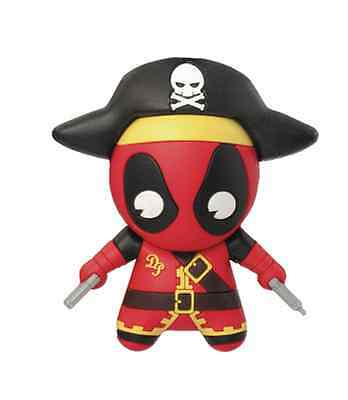 Marvel Comics 7cm 3D Deadpool Pirate Figural Keychain/ Keyring By Monogram