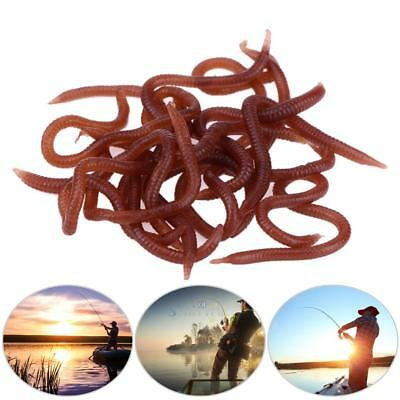 Soft Fake Bait Carp Fishing Lure Silicone Smell Red Worm Iscas Artificiais Worm