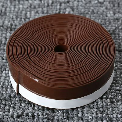 Width 25mm Draught Excluder Self Adhesive Rubber Seal Strip 5M For Window Door