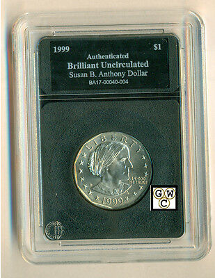 1999 United States Susan B. Anthony Dollar - Case Marked Brilliant Uncirculated