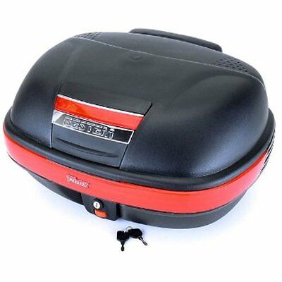 """Bestem Saddle Bags T-Box TBOX-929-BLK Black 12"""" 22"""" 16"""" Motorcycle/Scooter Flat"""