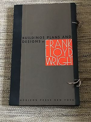 Frank Lloyd Wright Buildings Plans And Designs Porfolio 1963