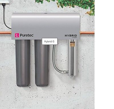 Puretec Hybrid G7 150lpm Whole House UV Water Treatment System