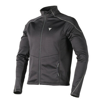 Dainese No Wind Layer D1 Black / Black / Black Base Layer Jacket All Sizes