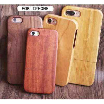 Shockproof Wood Case For Apple iPhone 6S & Plus Brand-new Wooden Bamboo