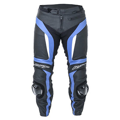 RST Blade II Blue Motorrad Motorcycle Sports Leather Jeans / Trouser All Sizes