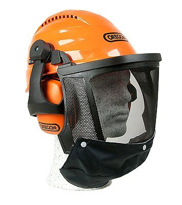 Oregon Waipoua Chainsaw Safety Helmet Combination - Forestry Protection 562413