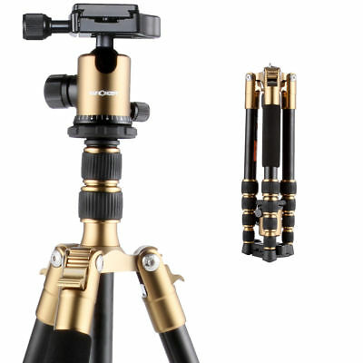 K&F Concept Mini Camera Tripod Lightweight w Quick Release Plate 360 ° Ball Head