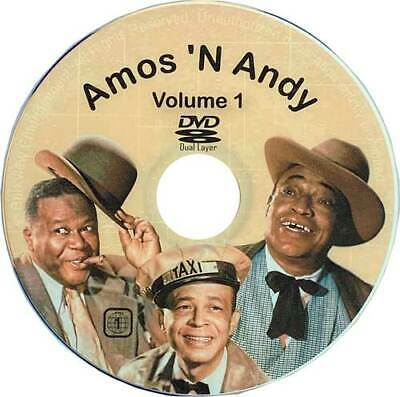 Amos And Andy Dvd Collection New N Great Comedy, 77 Shows