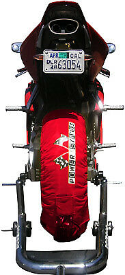 Psr Powerstands Tire Warmers Red Part# Tw-Sbk-Red New