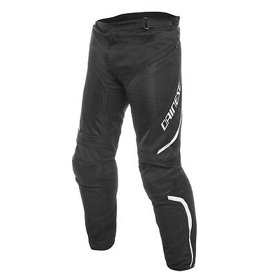 Dainese Drake Air D-Dry Black / black / White Motorcycle Trouser All Sizes