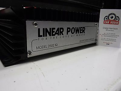 Linear Power 2502IQ 2-Channel Amplifier