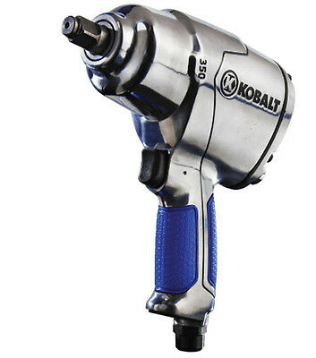 Kobalt 0.5-in 350-ft-lbs Air Impact Wrench Pistol Drill Handle Type Wrenches NEW