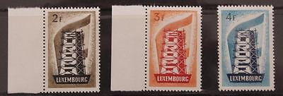 Luxembourg 1956 Europa Set SG609-611