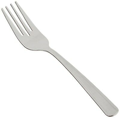 Winco 0014-06 12-Piece Dominion Fork Set 18-0 Stainless Stee Heavy Weight Salad