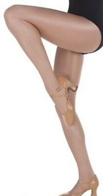 Gloss Dance Tights - Adults Medium - Light Toast
