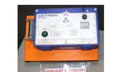 Wetron wts200 Rail Traffic Curve Block Control Unit for Roller Door