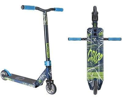 Crisp Blaster 2017 Mini Stunt Scooter Dark Blue Metallic Freestyle Kleinkinder
