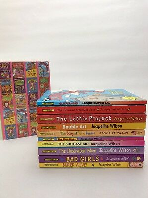 Jacqueline Wilson Boxed Book Set  10 PB  Bad Girls Double Act The Lottie Project