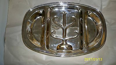 Sterling Silver Well-In-Tree Platter
