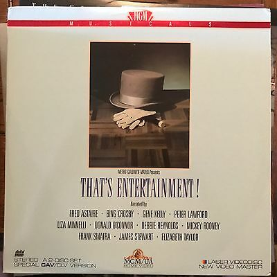 That's Entertainment  - LASERDISC  Buy 6 for free shipping