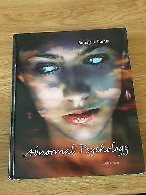 Abnormal Psychology (8th Edition) 9781429282543