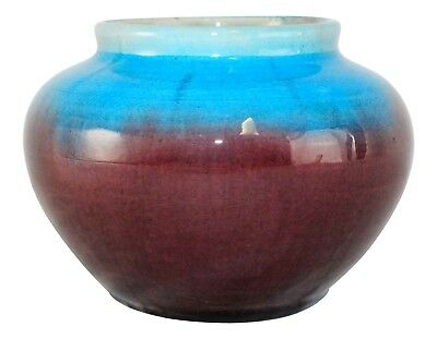 Pisgah Forest Pottery 1939 Two Tone High Glaze Vase