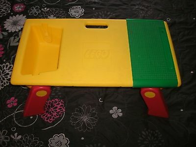 1994 Lego Collapsible Lap Table Top w/ Storage Folding Legs