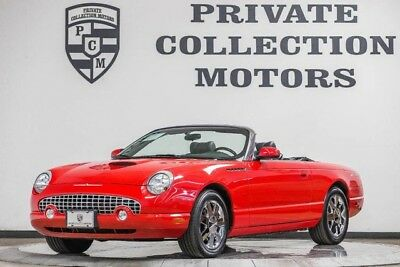 2002 Ford Thunderbird Base Convertible 2-Door 2002 Ford Thunderbird Original Miles Well Kept 2 Owner Local Car