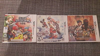 Nintendo 3DS games bundle lot! Complete in box