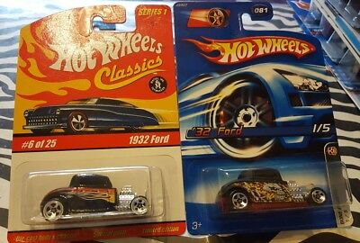 Hot Wheels 32 Ford  2 Of