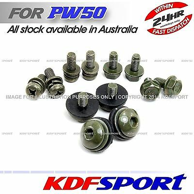 Kdf Plastic Fender Tank Frame Bolts Bolt For Yamaha Pw50 Py50 Peewee Pw Py 50