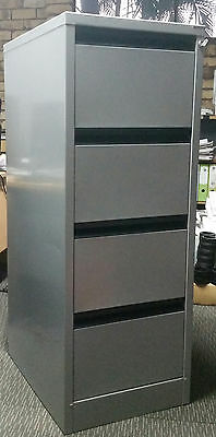 precision office filing cabinet 4 drawers with lock suspension files tabs aud 150 00