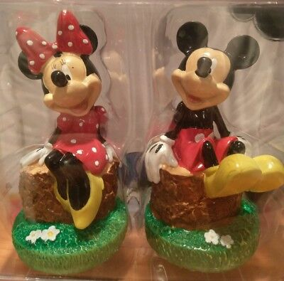 Mickey & Minnie Miniatures Mickey mouse and friends figures NIB collectable