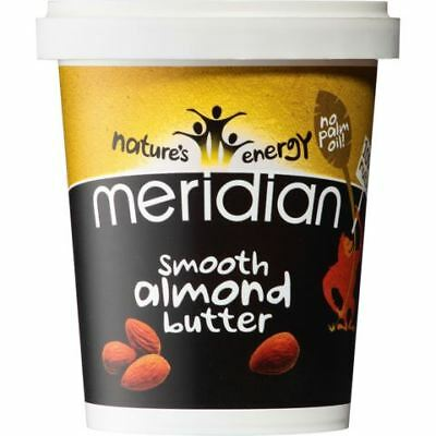 Meridian Foods Smooth Almond Butter 454g
