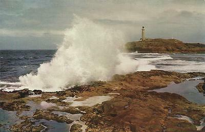 W S Thomson colour photograph Postcard -  ARDNAMURCHAN POINT, WESTERN HIGHLANDS