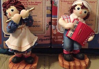 Raggedy Ann and Andy Figurine Music (Set of 2) Simon and Schuster, Inc