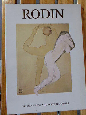 RODIN - 100 Drawings and Watercolours - MAGNA BOOKS ISBN 1-85422-157-4