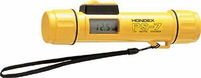 HONDEX Portable Handheld Depth Sounder PS-7 Metric Scuba Gauge Japan new .
