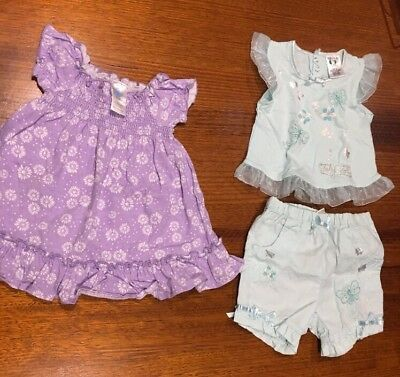 GIRLS SIZE 00 CLOTHES - Dress - Outfit