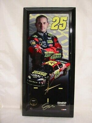 Casey Mears, Nascar, Jebco Clock , 23 5/8in Wood, New